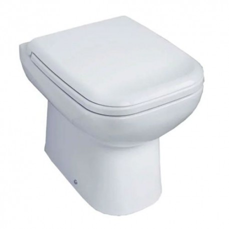 Essential VIOLET Back To Wall Pan Bathroom + Toilet Seat & Cover