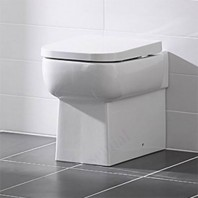 Essential ORCHID Back To Wall Pan Bathroom + Toilet Seat & Cover