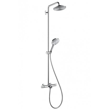 Hansgrohe Raindance Select 240 Showerpipe for bath tub with swivelling shower arm