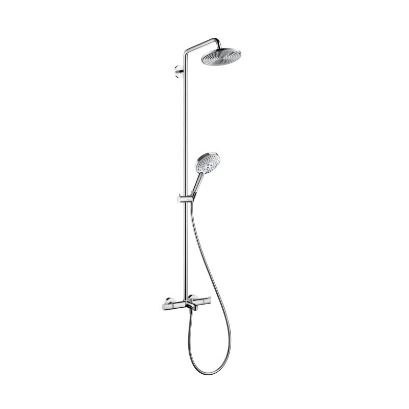 hansgrohe raindance select 240 showerpipe for bath tub with swivell. Black Bedroom Furniture Sets. Home Design Ideas