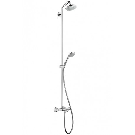 Hansgrohe Croma 100 Showerpipe for bath tub EcoSmart