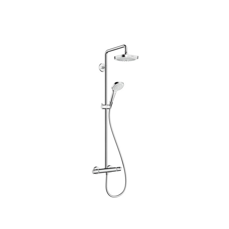 hansgrohe croma select e 180 2jet showerpipe. Black Bedroom Furniture Sets. Home Design Ideas