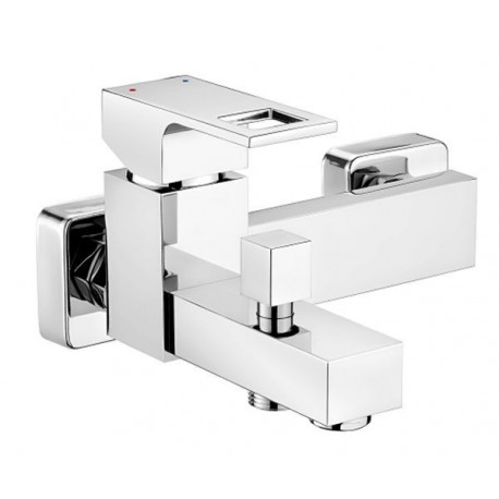 Deante Anemon Bath mixer wall mounted without shower set chrome