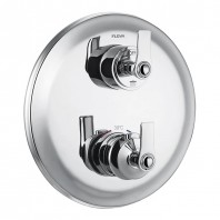 Flova Liberty 2 Outlet Concealed Thermostatic Mixer Valve with Easyfit SmartBOX - Chrome