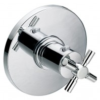 Flova XL Concealed Thermostatic Shower Mixer with Dual Outlet