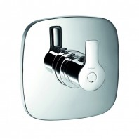 Flova Urban Concealed Thermostatic Mixer for High Pressure Water Systems (Excludes Shut-Off Valve)