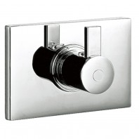 Flova Str8 Concealed Thermostatic 1/2 inch Shower Mixer