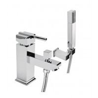 Deante Cubic 1-hole bath mixer chrome