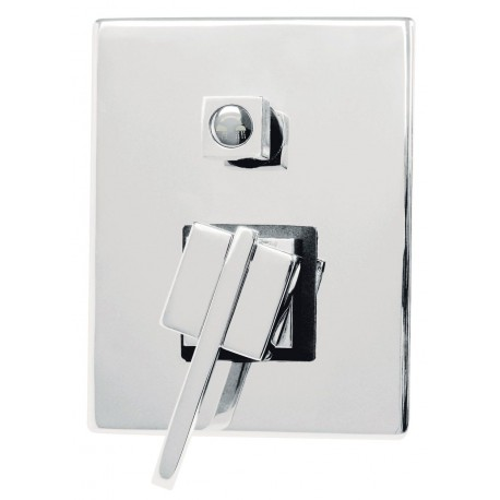 Deate Cubic Built-in shower mixer chrome