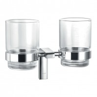 Flova Lynn Double Tumbler & Holder with Glasses