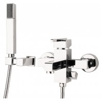 Deante Cubic Wall-mounted bath mixer chrome