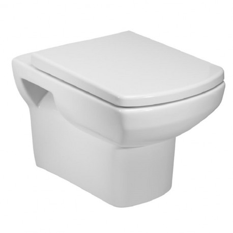 Tavistock Vibe Wall Hung Toilet - Soft Close Seat White