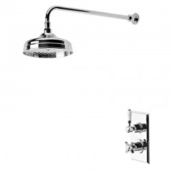 Tavistock Varsity Thermostatic Concealed Single Function Shower Valve System Chrome