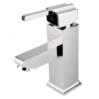 Deante Cubic Washbasin mixer chrome