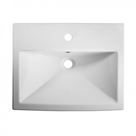 Tavistock Vibe Semi Countertop Basin - 550mm  - 1 Tap Hole