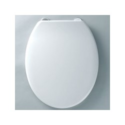 Tavistock Aspire Thermoset Standard Toilet Seat - Gloss White