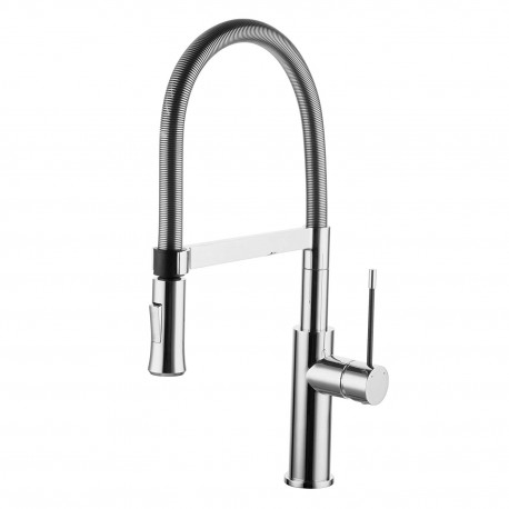 Omnires Sink Pull-Out Spout Mixer X3 chrome