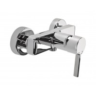 Deante Floks Shower Mixer Tap Chrome