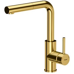 Quadron Angelina Pull Out Kitchen Sink Mixer Tap Gold Finish