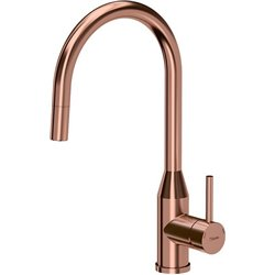 Quadron Audrey Pull Out Tall  Kitchen Sink Mixer Tap Copper Finish