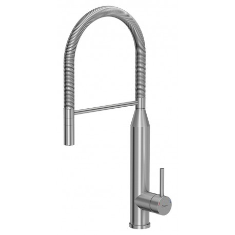 Quadron Marylin Pull Out Tall  Kitchen Sink Mixer Tap Stainless Steel Finish