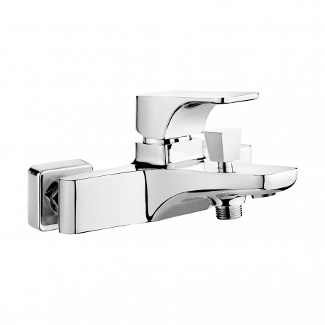 Deante Hiacynt Bath mixer wall mounted without shower set  chrome