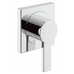 Grohe Allure Bath Concealed Wall Mounted Single Lever Chrome Bathroom Modern