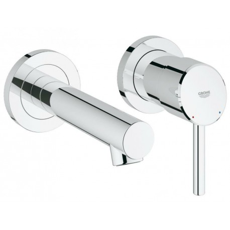 Grohe Concetto Concealed 2-hole Basin Bathroom Mixer Tap Single Lever Modern