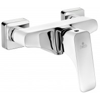 Deante Hiacynt Shower mixer without shower set white