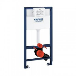 Grohe RAPID-SL 2-in-1 Toilet Frame 6/9 Litre 3 Mode Cistern 1000mm High Frame Blue/White