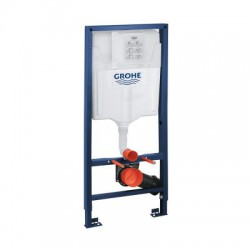 Grohe RAPID-SL 3-in-1 Toilet Frame 6/9 Litre 3 Mode Cistern 1130mm High Frame Blue/White