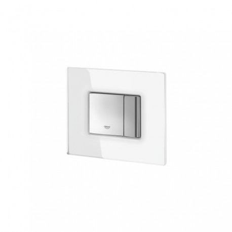 GROHE COSMOS FLUSH PLATE GLASS FROSTED