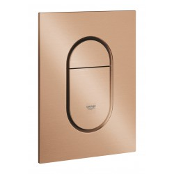 Grohe Arena Cosmopolitan Wall Plate S Brushed Warm Sunset