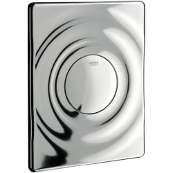 Grohe SURF Pneumatic WC Wall Plate Dual Flush Single Flush Actuation Chrome