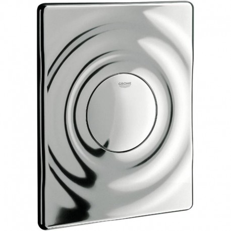 Grohe SURF Pneumatic WC Wall Plate Dual Flush Chrome