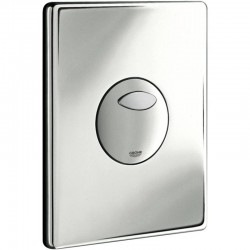 Grohe SKATE Pneumatic WC Wall Plate Dual Flush Or Start Stop Actuation Chrome