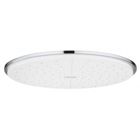 Grohe Rainshower Cosmopolitan 210 Fixed Shower Head 422mm 1 Spray Moon White