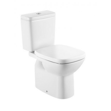 Roca Debba Close Coupled Toilet Cistern and Soft Close Seat