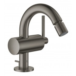 GROHE Atrio Single Lever Bidet Mixer  Brushed Hard Graphite