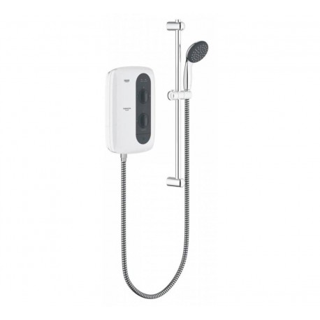 GROHE TEMPESTA 100 ELECTRIC SHOWER 9.5KW FROSTED GRANITE
