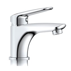 JTP Yatin Basin Mixer Tap Single Handle - Chrome