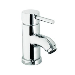 JTP Florentine Mini Mono Basin Mixer Tap with Pop-Up Waste Single Handle - Chrome