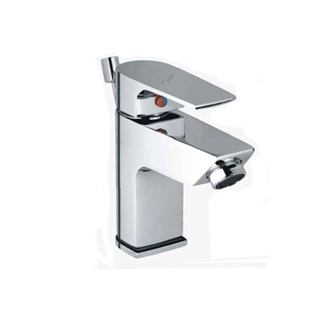 JTP Aria Mono Basin Mixer Tap with Pop-Up Waste Single Handle - Chrome