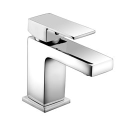 JTP Sable Basin Mixer Tap with Click Clack Waste Single Handle - Chrome