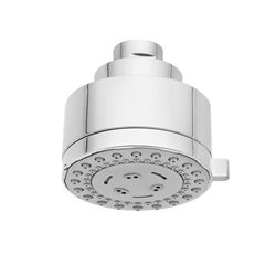 JTP Techno LP Multi-Function Fixed Shower Head- Chrome