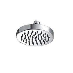 JTP Simple Fixed Shower Head- 125mm Diameter- Chrome