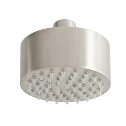 JTP Inox Mini Fixed Shower Head 89mm Diameter - Stainless Steel