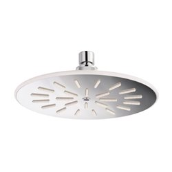 JTP Labyrinth Round Fixed Shower Head 200mm Diameter - Chrome