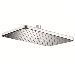 JTP Airforce Fixed Shower Head- 299mm x 190mm- Chrome