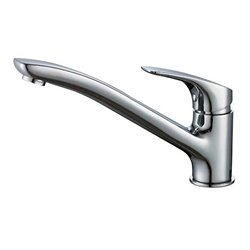 JTP Topmix Casted Mono Kitchen Sink Mixer Tap- Single Handle- Chrome